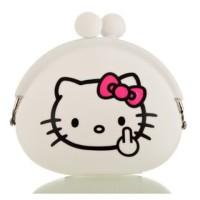 Dompet Koin Hello Kitty Dompet Silikon Dompet Korea Dompet Uang Wanita