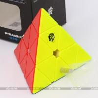 Rubik Pyraminx Qiyi Xman Design XMD Bell Magnetic Pyraminx Stickerless