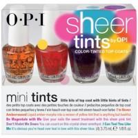 OPI Mini Sheer Tints