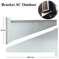 Bracket AC / Breket Dudukan AC Out door Besar 1 - 2 PK ( Besar ) Murah