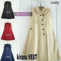 Kirana Vest Outer | Atasan | Hijab | Baju Wanita | Fashion