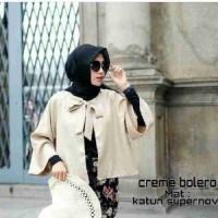 Creme Bolero Outer | Atasan | Hijab | Baju Wanita | Fashion