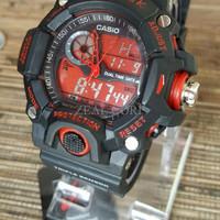 Casio G-Shock Rangeman List Merah