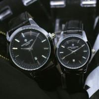 Jam Tangan Couple Pria & Wanita Patek Philippe Ta111 Silver