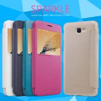 SAMSUNG J5 PRIME/ON 5(2016) NILKIN SPARKLE LEATHER ORIGINAL 100%