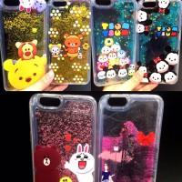jual case glitter case water glitter case iphone