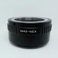 Adapter Lensa M42 to Sony Nex E-Mount NEX-3C A5000 A7 A7R -