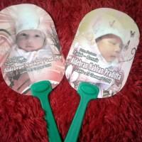 Souvenir Walimatul Tasmiyah/Nama Bayi (Kipas promosi, kipas souvenir)