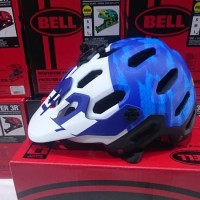 Helm Super Bell 3 Mat Frc Blue / Wht B2B Mips