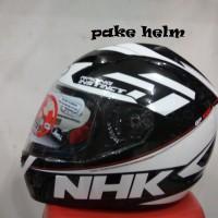 HELM NHK GP 1000 RACING INSTINCT MOTIF BLACK WHITE