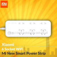 Jual XIAOMI Mi New Smart Power Strip 6 Sockets Wifi Murah