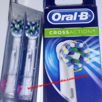Oral-B Cross Action Replacement Heads - kepala sikat gigi elektrik