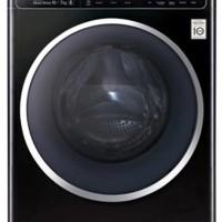 Mesin Cuci LG Type F1400HT1B Kap. 10 Kg + Dryer 7Kg