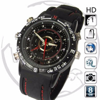 Best Sellert. Spy Watch Camera 8Gb / Jam Tangan Kamera