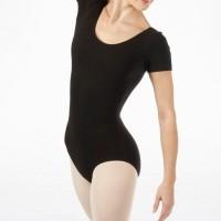 Jual Leotard lengan pendek / baju renang / baju ballet bahan lycra Murah