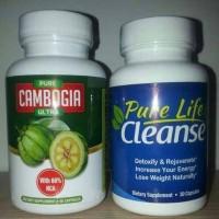 [PAKET] Pure Garcinia Cambogia Ultra & Pure life Cleanse Original USA