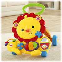 restock!! fisher price musical lion walker