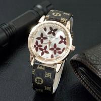 Jam Tangan Wanita / Cewek Louis Vuitton LV SK15 Leather 03925
