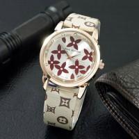 Jam Tangan Wanita / Cewek Louis Vuitton LV SK15 Leather 08525