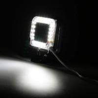 USB LED Light Lens Ring For GoPro Hero 4/3 + Frame Diskon