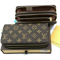 Dompet LOUIS VUITTON Book Double Zipp LV078
