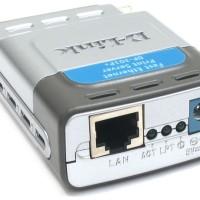 D-LINK DP-301P+ - 10/100 Ethernet Parallel Port Print Server