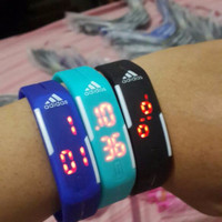 JAM Tangan Gelang ADIDAS / NIKE TVG Jam Digital LED Watch HOT TREND