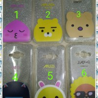 sarung hp lentur softcase gambar blink 2in1 for samsung j1 ace