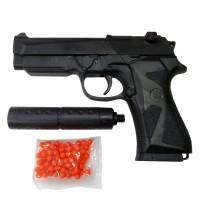 Pistol Mainan Airsoft Handgun + Peluru