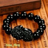 Jual Gelang Kesehatan Black Jade Bracelet Batu Giok Hitam ...Zena_Shop Murah