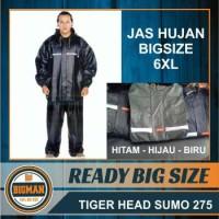 Jual Jas Hujan JUMBO BIG Size Tiger HEAD Rubber Murah