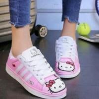 Jual Sepatu Sport Hello Kitty/Sepatu Kets Wanita Murah