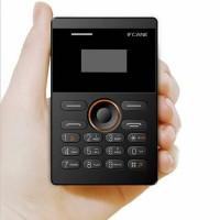 Jual Ifcane E1 Cardphone mini warna Gold, Black and White Murah