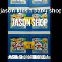 harga Lemari Plastik Naiba Knockdown Motif Doraemon Susun 4 Tokopedia.com