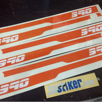 Sticker list KTM RC 390