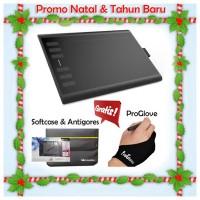 harga PROMO NATAL&TAHUN BARU HUION NEW 1060 PLUS Free Softcase+Proskin+Glove Tokopedia.com