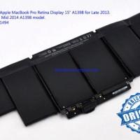 Battery/Baterai Original Apple MacBook Pro Retina 15 A1398 Model A1494