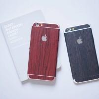 Harga wood sticker for iphone 4 4s 5 5s se 6 6s 6 7 7 | antitipu.com