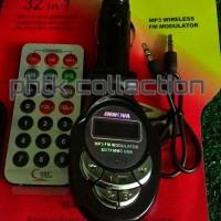 CAR MUSIC FM MODULATOR TF MICRO SD MMC CARD USB AUDIO SUPPORT