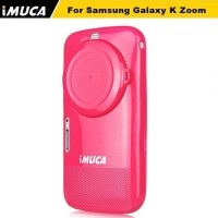 Samsung Galaxy K Zoom IMUCA TPU Rubber Soft Back Case + Anti Gores
