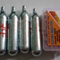 harga ( AirsoftGun Centre ) Paket CO2 dan BB Gotri 6mm/4,5mm Tokopedia.com