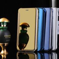 Samsung A9 A910 Flipcase Flip Mirror Cover S View Transparan Casing Hp