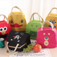 Jual Lunch Bag Minion, Elmo, Kumamon, Kodok, Bebek Murah