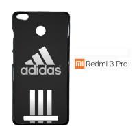 Adidas black stripes center X3337 Casing Xiaomi Redmi 3 Pro / Redmi 3S