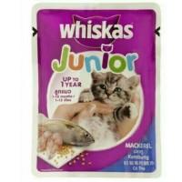 Whiskas Junior Sachet 85gr Makanan Kucing