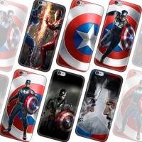 Custom Case Motif Captain America