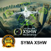 Happytoys Drone Syma X5HW Wifi FPV Camera & Bisa Altitude hold New !!!