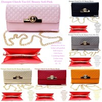 dompet / clutch / sling bag / guci beauty best seller