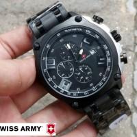 Jam Swiss Army Chrono Date Aktif Elegan Super Premium