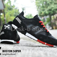 Sepatu Pria Adidas Boston Super Neighborhood Grade Ori / Sport Kets Ca